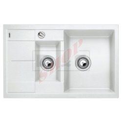 Blanco METRA 6S COMPACT fehér gránit mosogatótálca exc