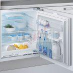 Whirlpool ARZ 005/A+ pult alá építhető hűtőszekrény
