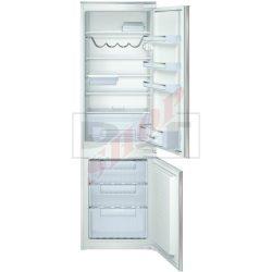 Bosch KIV34X20 beépíthető kombinált hűtő/fagyasztó