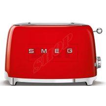 SMEG TSF01RDEU kenyérpirító 2 szeletes piros