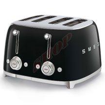 SMEG TSF03BLEU kenyérpirító 4 szeletes fekete